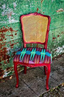 Chaise wax style Régence