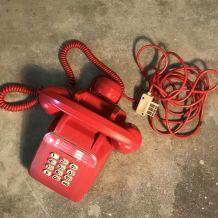 Téléphone Socotel ROUGE  Vintage