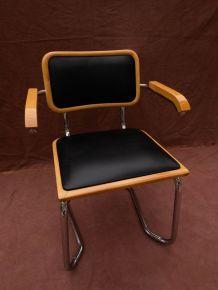 Fauteuil / Chaise style Marcel Breuer B64 skaï