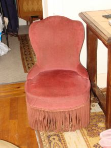"""Fauteuil """"Crapaud"""""""