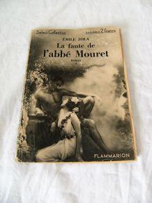 Emile Zola la faute de l'abbé Mouret Flammarion