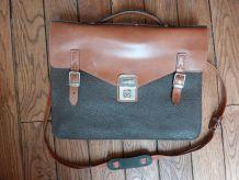 Sacoche en cuir vintage