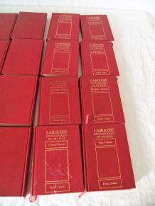 Lot 36 volumes Larousse encyclopédique en couleurs