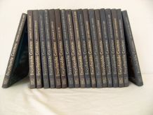 "Lot de 19 volumes ""Encyclopédie Cousteau"" robert"