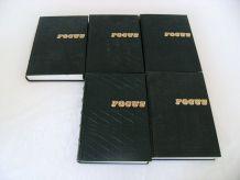 Lot 5 volumes FOCUS Géographie ORBIS BORDAS reliés