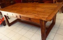 Superbe table en chêne