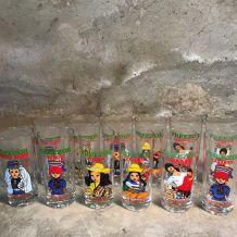 12 verres FREEZOR CUSENIER  100% vintage