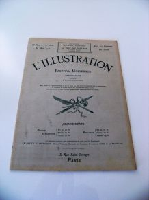 L'illustration 1913n°3679 burberrys zigzag qt jame