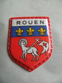 Badge collection quick lait régilait armoiries