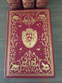 4 tomes Fables de La Fontaine Ed° Jean Bonnot