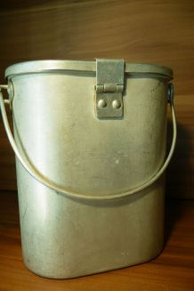 Cantine aluminium avec couvercle