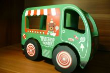 """Camion bois """"marchand de bonbons"""""""