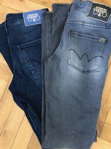 """Jeans skinny fille """" Le temps Des Cerises"""" 12 ans"""