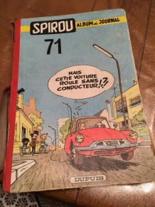 album de journal SPIROU n°71