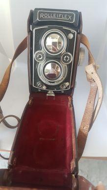 Rolleiflex 6x6 Carl Zeiss 1:3,5 f = 75 mm