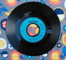 45 tours vinyle Johnny Halliday