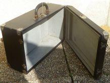 valise  ancienne bois , cartonnée, vintage