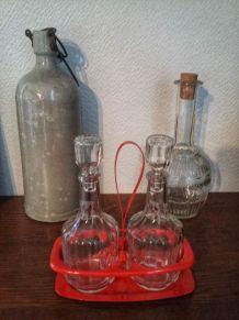 Serviteur huile et vinaigre vintage