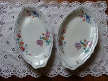 Raviers Porcelaine Blanche Limoges