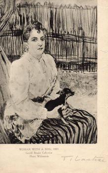 Reproductions signées par Toulouse Lautrec