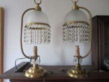 Deux lampes à poser