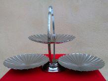 Joli présentoir en métal - Années 80