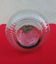 Jolie carafe en verre soufflé