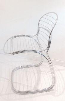 "Chaises designer Gastone Rinaldi ""Sabrina """