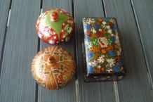 petites boîtes raffinées d'Indes