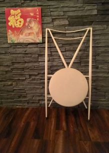 Chaise pliable design italien en fer // année 60