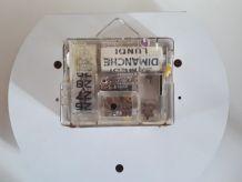 Superbe Horloge Murale JAZ electronic . 1975.