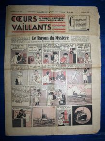 Coeurs Vaillants N° 16 Du 18/04/1937 - Le Rayon Du Mystere