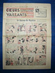 COEURS VAILLANTS N° 19 DU 09/05/1937 - LE RAYON DU MYSTERE