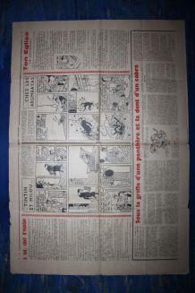 COEURS VAILLANTS N° 20 DU 16/05/1937 - LE RAYON DU MYSTERE