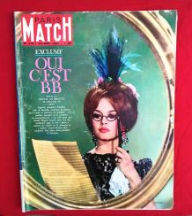 Paris Match n°716 - Brigitte Bardot - 1962