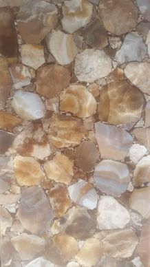 Plaque en aragonite de Madagascar 45*95