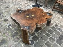 Table basse naturelle brute