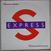 "Vinyl 45t S-EXPRESS ""Theme from S-Express"""