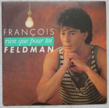 """Vinyl 45t FRANCOIS FELDMAN """"Rien que pour toi"""""""