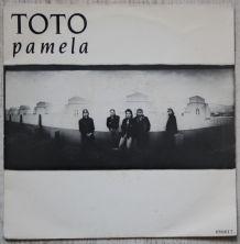 "Vinyl 45t TOTO ""Pamela"""