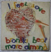 """Vinyl 45t BRONSKI BEAT """"I feel love"""""""