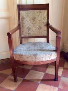 Magnifique fauteuil d'époque empire