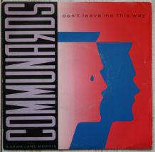 """Vinyl 45t COMMUNARDS """"Don't leave me this way"""""""