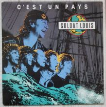 """Vinyl 45t SOLDAT LOUIS  """"C'est un pays"""""""