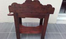 Table de toilette en bois années 40/50 -