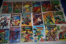 LOT 18 ANCIENNES BD SUPER HEROS