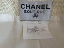 SUBLIME Manteau/Robe en tweed beige CHANEL VINTAGE