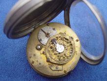 """A vendre montre gousset a """"coque"""" trés vielle a réstaurer"""