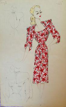 Série robes 1950