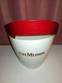 Seau à champagne vintage GH.Mumm cordon rouge